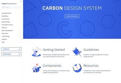 IBM's Carbon design system