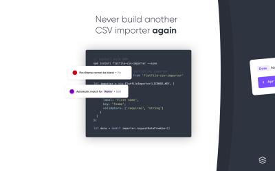Flatfile makes data import simple for developers