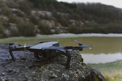A drone in a national park