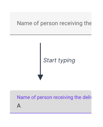 Long labels get cut off with Material Design text fields