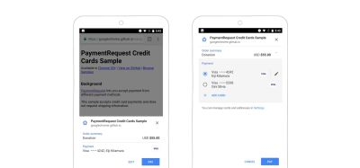 The Google Pay API pop-up triggered on an e-commerce website