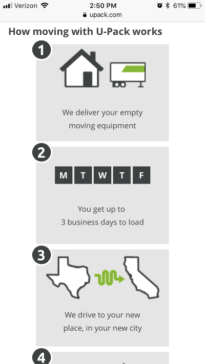 UPack's explainer graphic reaches users on the fence