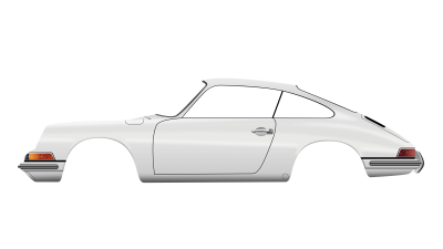 The Porsche 911 illustration — getting there bit by bit...