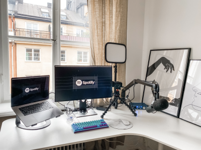 A picture of how a personal workspace could look like