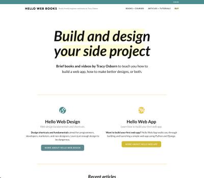 book homepage