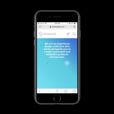 SensesLab contact shortcut