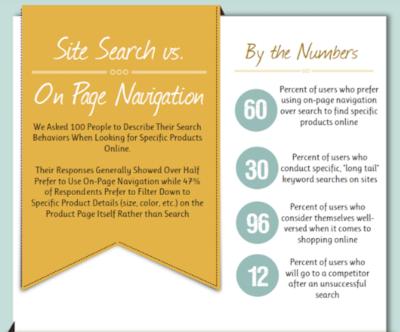 Kissmetrics site search infographic
