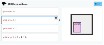 Screenshot of an Interactive Example
