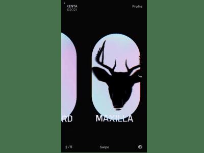 portfolio website by Japanese frontend developer Kenta Toshikura