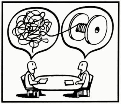 User interview illustration