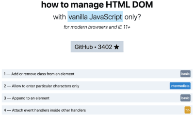 HTML Dom