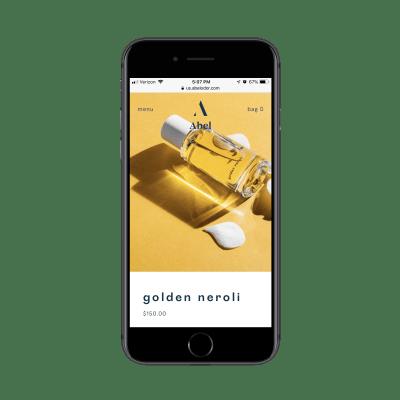 Abel's golden neroli scent