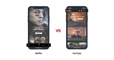 UX Search Patterns for Netflix and YouTube