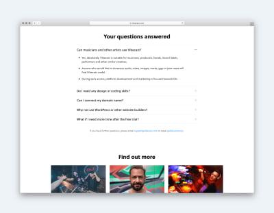 Vibecast Homepage