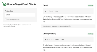 How To Target Email Clients