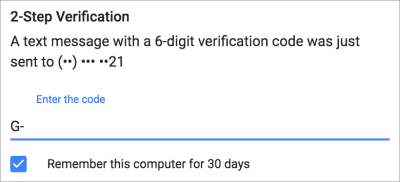 Two-factor authentication adds friction to the log-in experience, but it improves security.