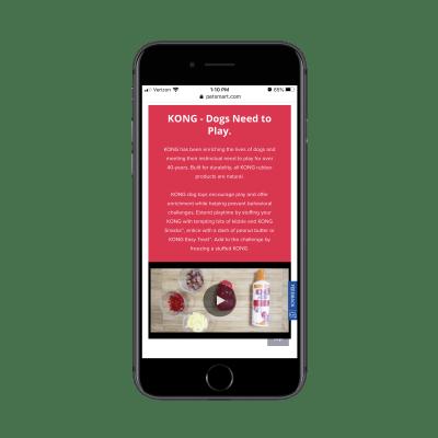 Informations sur la marque PetSmart Kong, vidéos et sous-catégories