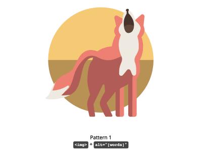 تصویر روباه ارائه شده در مثال codepen