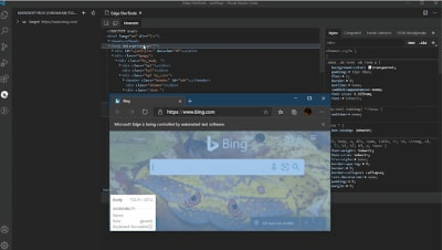 Microsoft Edge Developer Tools for Visual Studio Code