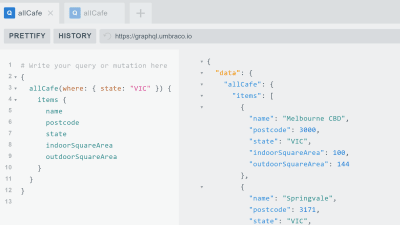 GraphQL out-of-the-box