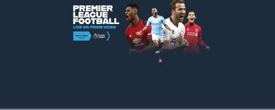 Screenshot says: Premier league football - Live on Prime video