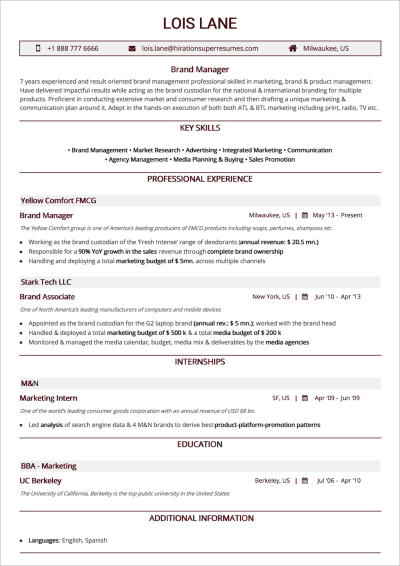 How To Craft The Perfect Web Developer Resume Smashing