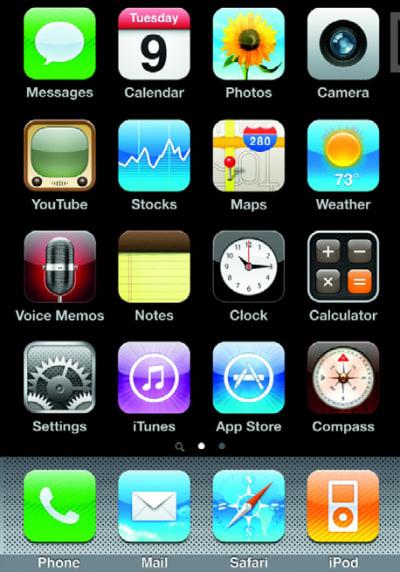 IOS icons, 2007