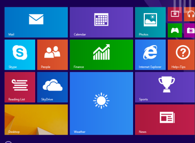Windows apps and web, 2013