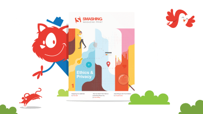 The cover of Smashing Magazine Print.