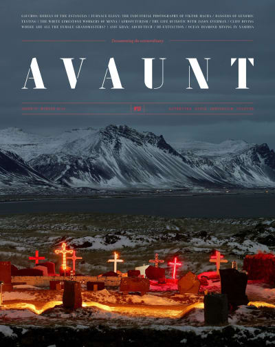 Avaunt magazine cover