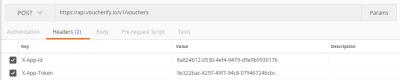 Providing API keys in Postman