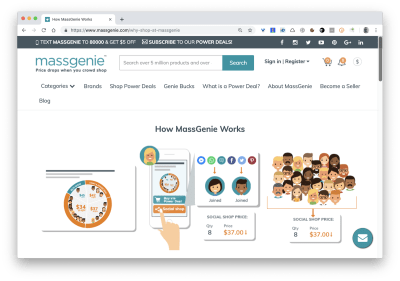 massgenie homepage