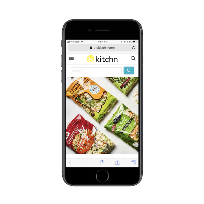 Kitchn mobile search