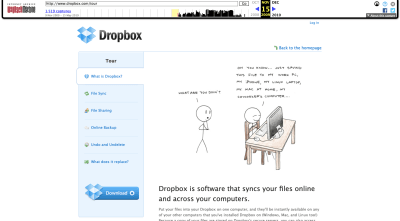 Dropbox MVP description