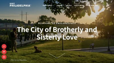 Visit Philadelphia website homepage