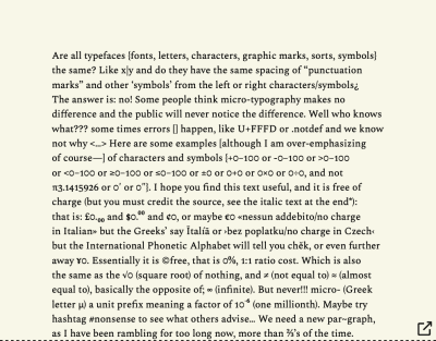 Cropped paragraph block typeset in Spectral Regular font, showing half of the full figure, of gobbledygook text. And whole paragraph block typeset in Spectral Regular font, showing half of the full figure, of gobbledygook text.