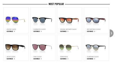 Rayban filter most popular