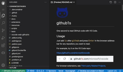 From GitHub To VS Code, In One Second