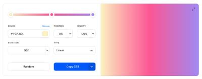 Trending color palettes