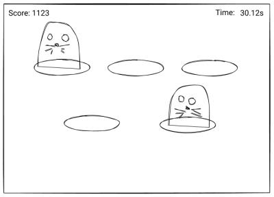 Whac-A-Mole Sketch