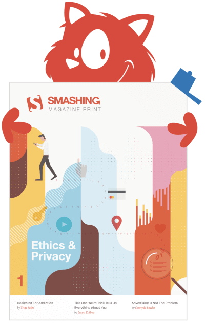 The cover of Smashing Magazine Print