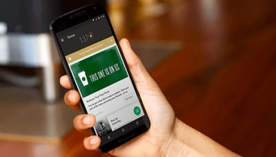 Starbucks provides offers and services tailored to individual customers