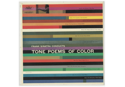 Album artwork of 'Tone Poems of Color' by Frank Sinatra