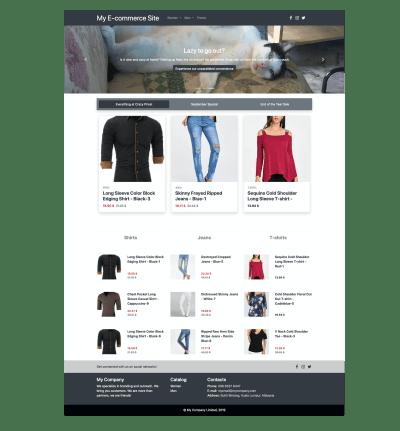 Demo e-commerce site