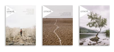 Ernest Journal magazine covers