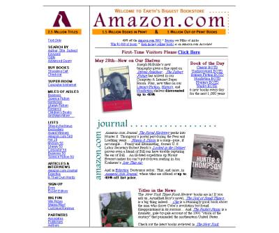 Baby Amazon, 1997