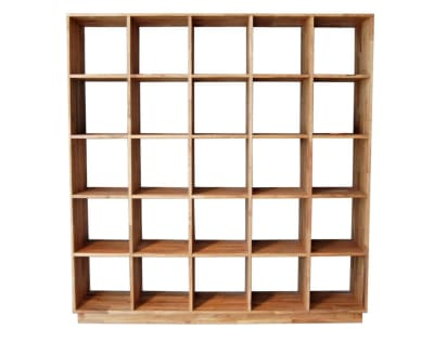 A bookshelf is a kind of grid