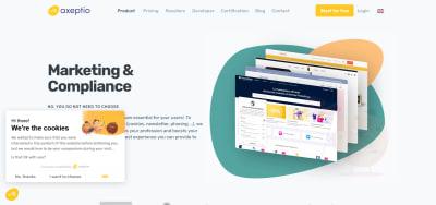 Axeptio's website