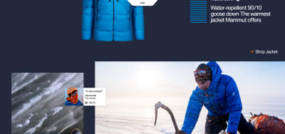 Mammut's website