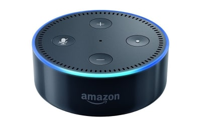 Amazon Echo Dot is a screen-less device.